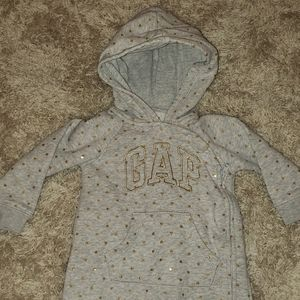 Baby Gap Gold heart logo one peice. Size 12-18m